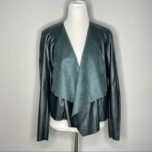 Blank NYC Green Faux Leather jacket NEW Medium